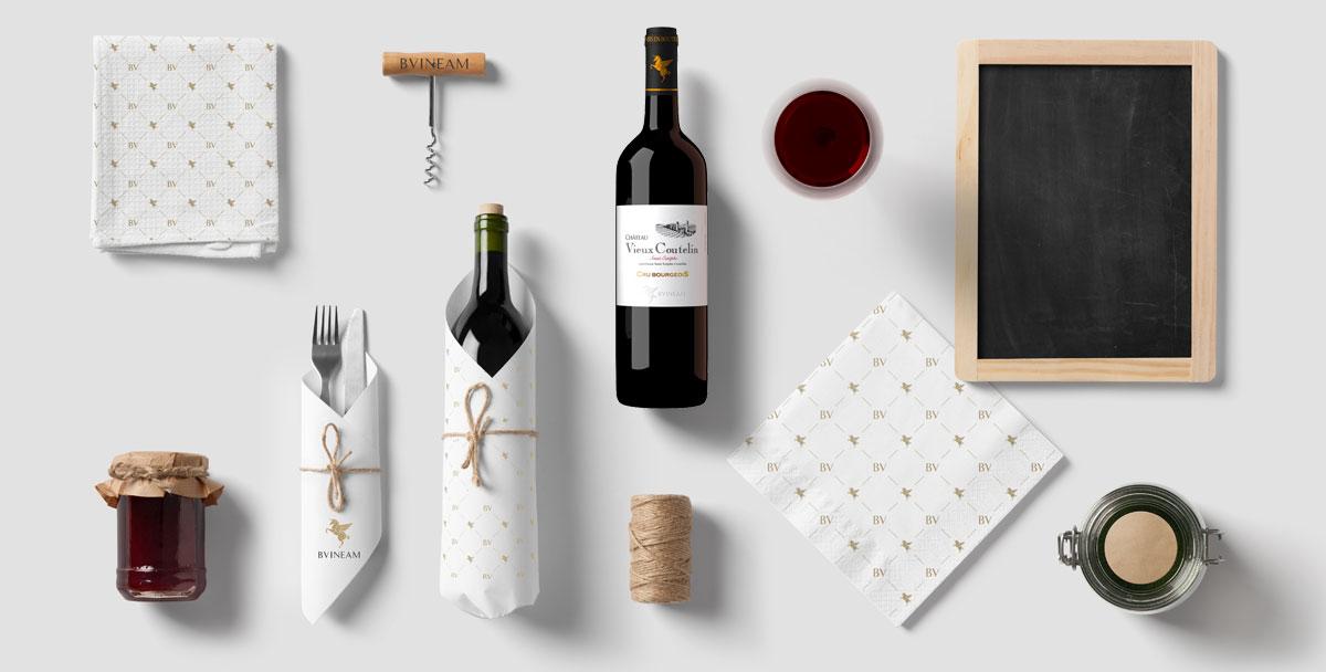 【翡马】葡萄酒品牌形象设计