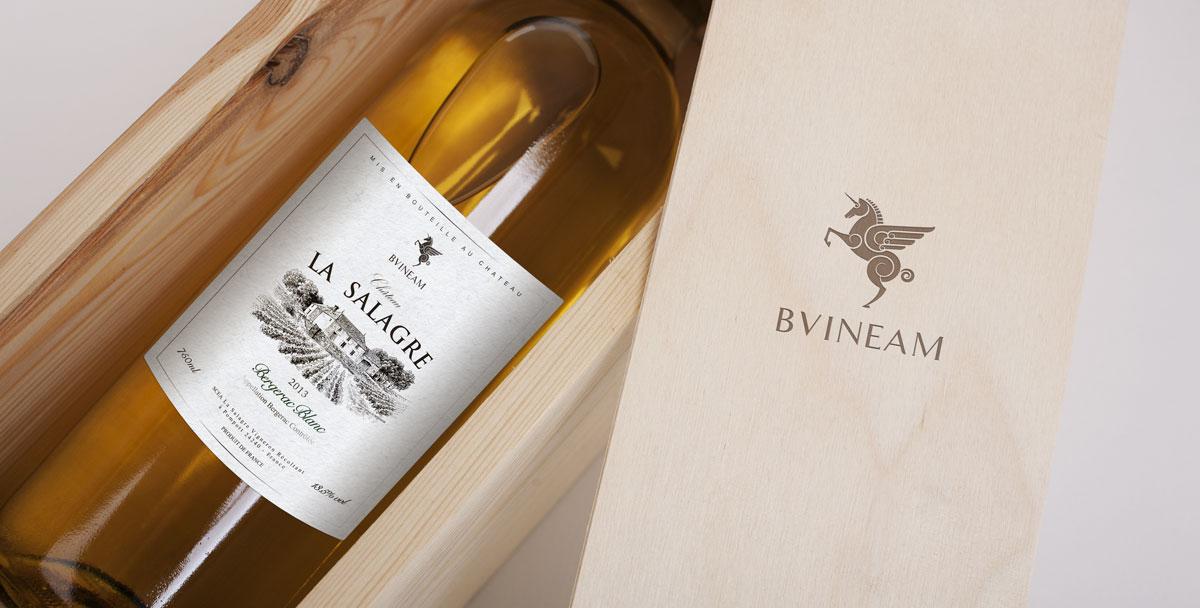 【翡马】葡萄酒品牌酒标设计
